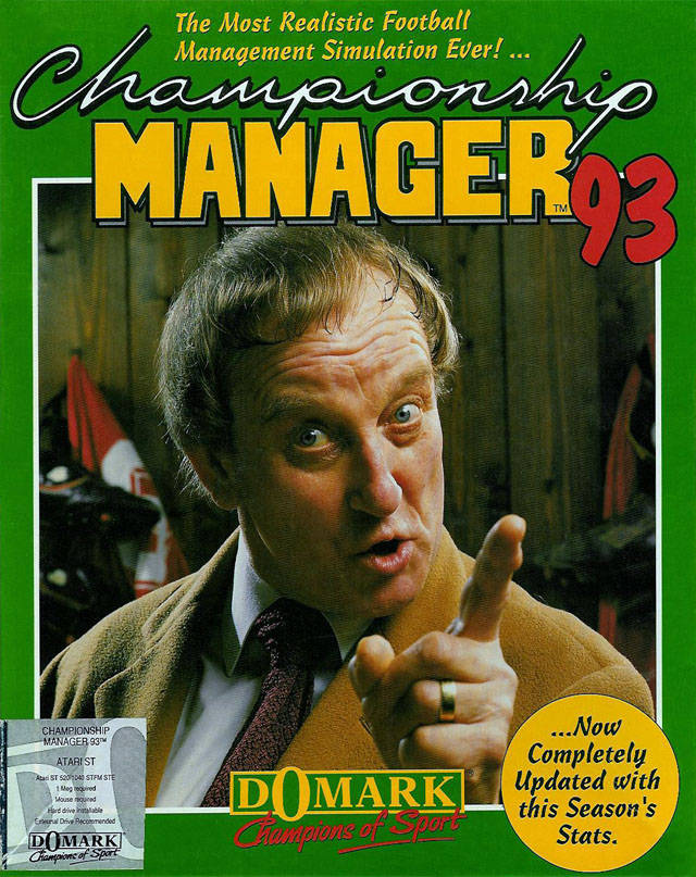 Championship Manager 92/93 Legend that lad shame he was absolutely croc shi